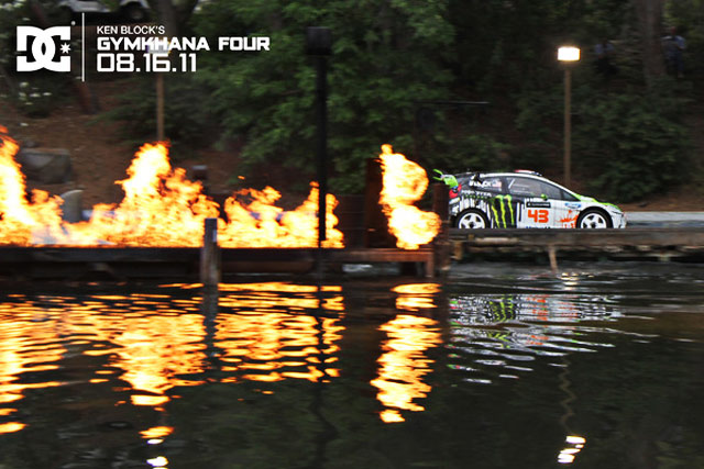 Ken Block Gymkhana 4: The Hollywood Megamercial