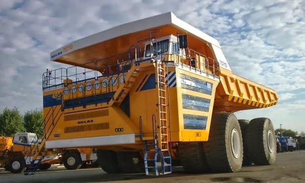Δείτε το μεγαλύτερο φορτηγό στον κόσμο [video]