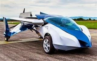 Το σλοβακικό ιπτάμενο αυτοκίνητο τα «σπάει»!