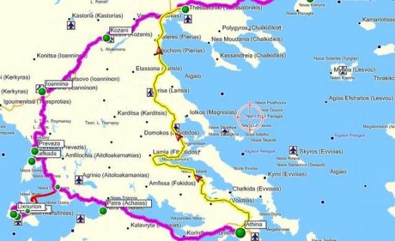 Πόσο κοστίζει το «Αθήνα-Θεσσαλονίκη» με ΙΧ; Πόσοοο;;;;
