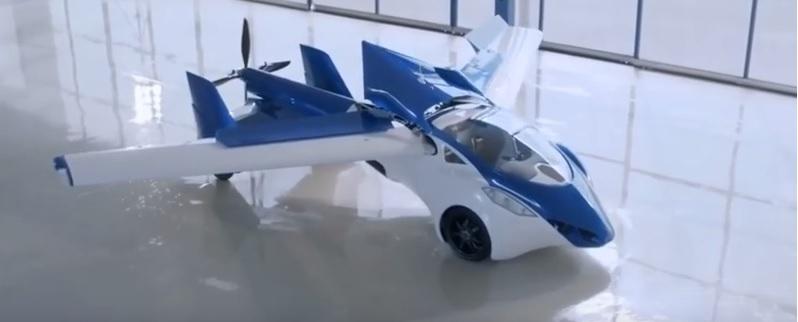 Δεν είναι αεροπλάνο, αλλά αυτοκίνητο! Και λέγεται AeroMobil!