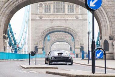 O Ken Block driftάρει τη Mustang του στο Λονδίνο