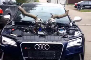 Ένα… σατανικό Audi RS7