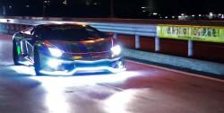 Αστράφτει και βροντάει αυτή η Lamborghini Aventador!