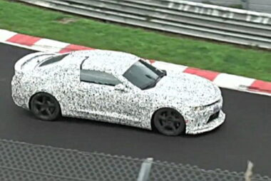 H νέα Camaro στο Nurburgring