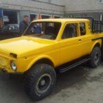 Τι G63 AMG 6×6 μου λες; Εδώ υπάρχει το Lada Niva 6×6