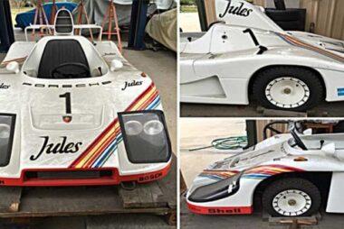 Μινιατούρα-καρτ της θρυλικής Porsche 936