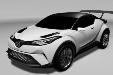 Το Toyota C-HR στο Ring