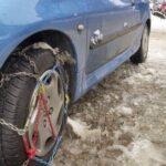 Πώς να τοποθετήσετε αντιολισθητικές αλυσίδες στο αυτοκίνητο